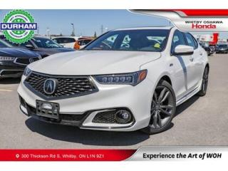 Used 2019 Acura TLX Technology Package A-Spec | Automatic for sale in Whitby, ON