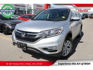 Used 2016 Honda CR-V SE | CVT | Android Auto/Apple CarPlay for sale in Whitby, ON