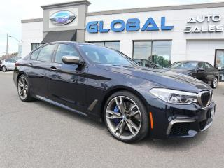 Used 2018 BMW 5 Series M550i xDrive for sale in Ottawa, ON
