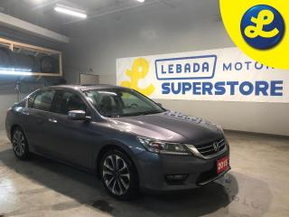Used 2015 Honda Accord Sport * Back Up Camera * Sport Mode * Eco Mode * Hands Free Calling * Sunroof * Heated Cloth Seats * Cruise Control * Steering Wheel Controls * AM/FM/ for sale in Cambridge, ON