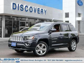 Used 2014 Jeep Compass LIMITED for sale in Burlington, ON