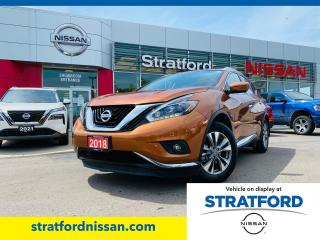 Used 2018 Nissan Murano SL AWD for sale in Stratford, ON