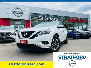 Used 2018 Nissan Murano SV AWD for sale in Stratford, ON