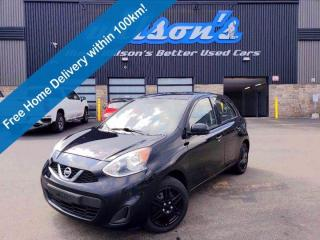Used 2017 Nissan Micra SV, Cruise Control, Air Conditioning, Keyless Entry, Power Windows, Power Mirrors and More! for sale in Guelph, ON