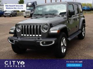 Used 2019 Jeep Wrangler Unlimited Sahara for sale in Medicine Hat, AB