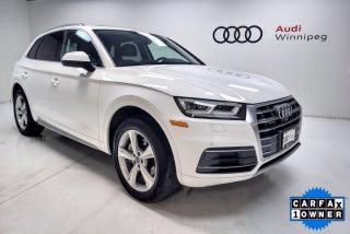 Used 2018 Audi Q5 Progressiv w/Driver Assistance Package for sale in Winnipeg, MB