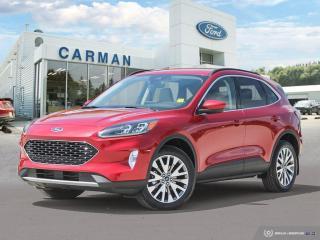 New 2021 Ford Escape Titanium for sale in Carman, MB