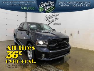 Used 2018 RAM 1500 Sport 4x4 Crew Cab   EcoDiesel   Bluetooth for sale in Indian Head, SK