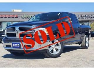 Used 2020 RAM 1500 Classic SOLD BY TIM M! THANK YOU for sale in Listowel, ON
