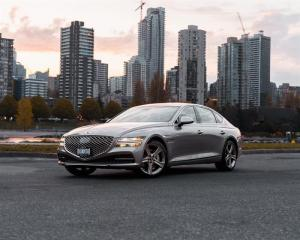 Used 2021 Genesis G80 3.5T Prestige AWD for sale in Vancouver, BC