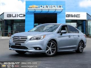Used 2016 Subaru Legacy 2.5i Limited Package LEATHER | SUNROOF | NAV | AWD | for sale in Burlington, ON
