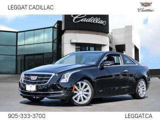 Used 2017 Cadillac ATS 2.0L Turbo MANUAL   RWD   SUNROOF for sale in Burlington, ON