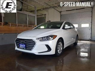 Used 2017 Hyundai Elantra L  6-SPEED MANUAL!! for sale in Barrie, ON