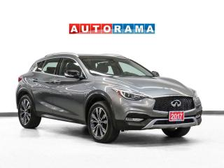 Used 2017 Infiniti QX30 AWD Navigation Leather PanoRoof Backup Cam for sale in Toronto, ON