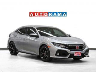 Used 2017 Honda Civic HB Sport Touring Nav Leather Sunroof Backup Cam for sale in Toronto, ON