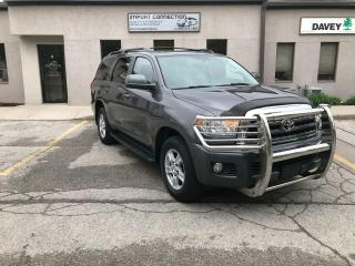 Used 2012 Toyota Sequoia SR5,LEATHER,SUNROOF,BLUETOOTH,REAR VIEW CAMERA!! for sale in Burlington, ON