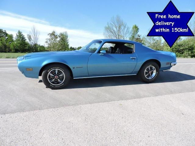1972 Pontiac Firebird 400 Automatic Restored and in beautiful condition