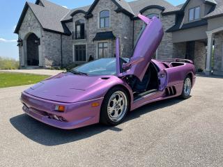 Used 1997 Lamborghini Diablo *PRICE IN USD* VT ROADSTER for sale in Guelph, ON