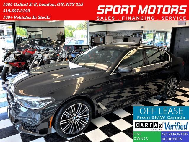 2017 BMW 5 Series 530i xDrive M-PKG+Massage+CooledSeats+CLEAN CARFAX