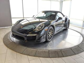 Used 2014 Porsche 911 Turbo S Cabriolet | CPO | Ext. Warranty | Burmester | LOW KMS! for sale in Edmonton, AB