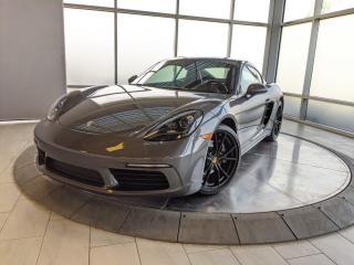 Used 2018 Porsche 718 Cayman CPO | Ext. Warranty | Premium PKG | LOW KMS for sale in Edmonton, AB