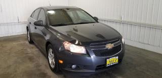 Used 2013 Chevrolet Cruze LT Turbo w/LEATHER, MOONROOF, REMOTE START for sale in Huntsville, ON
