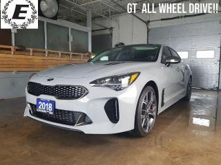 Used 2018 Kia Stinger GT    365 HORSEPOWER WOW!! for sale in Barrie, ON