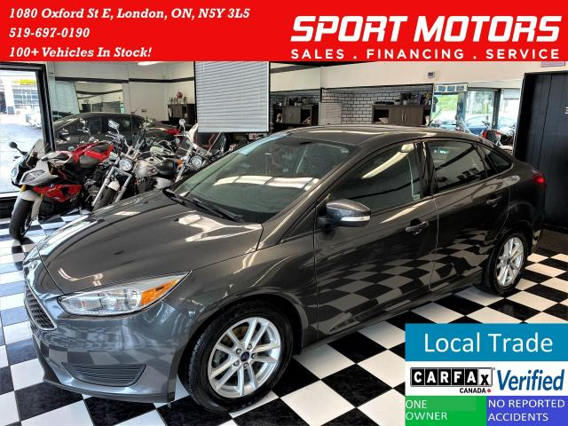 2016 Ford Focus SE+Camera+Heated Seats+New Tires+CLEAN CARFAX