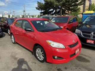 Used 2010 Toyota Matrix 4 Door, 5 Passenger, 3 Years Warranty Available. for sale in Toronto, ON