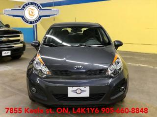 Used 2013 Kia Rio HB Auto, Only 98K km, Heated Seats, BT for sale in Vaughan, ON