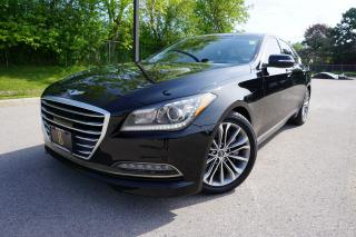 Used 2015 Hyundai Genesis TECH PACKAGE / NO ACCIDENTS / LOCAL CAR / STUNNING for sale in Etobicoke, ON