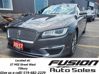 Used 2017 Lincoln MKZ Select-AWD-1 OWNER OFF LEASE-REMOTE START for sale in Tilbury, ON