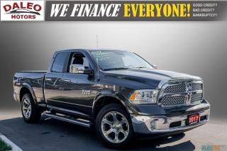 Used 2017 RAM 1500 LARAMIE / BACKUP CAM / LEATHER / LOADED for sale in Hamilton, ON