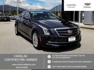 Used 2017 Cadillac ATS 2.0L Turbo Luxury NAVIGATION - MOONROOF - WIRELESS CHARGING for sale in North Vancouver, BC