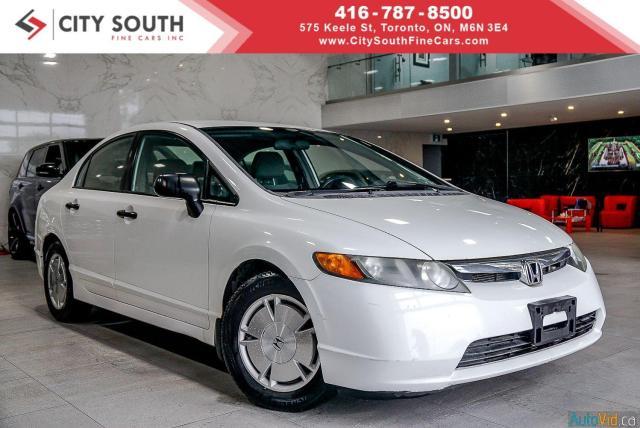 2008 Honda Civic DX-G - Approval->Bad Credit-No Problem