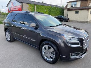 Used 2015 GMC Acadia Denali ** AWD, NAV , HTD/COOL LEATH, BACK CAM ** for sale in St Catharines, ON
