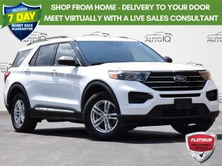 Used 2020 Ford Explorer XLT 4WD   2.3L    DUAL ZONE A/C   POWER SEATS   BLIS BLIND SPOT INFORMATION SYSTEM for sale in Waterloo, ON