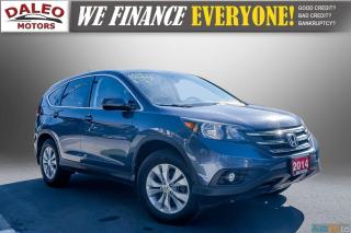 Used 2014 Honda CR-V EXL / BACKUP CAM / LEATHER / HEATED SEATS / for sale in Hamilton, ON