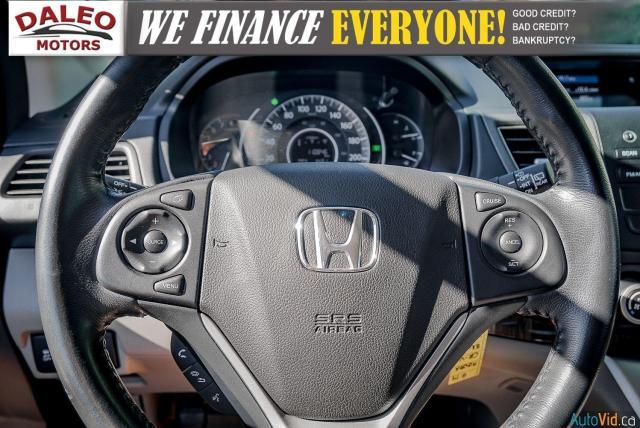 2014 Honda CR-V EXL / BACKUP CAM / LEATHER / HEATED SEATS / Photo17