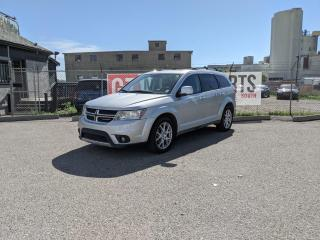 Used 2013 Dodge Journey R/T I AWD I DVDI BACKUP CAMI LEATHER I $0 DOWN- EV for sale in Calgary, AB