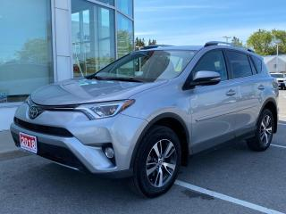 Used 2018 Toyota RAV4 XLE AWD-ONE OWNER-BOUGHT AND SERVICED HERE! for sale in Cobourg, ON