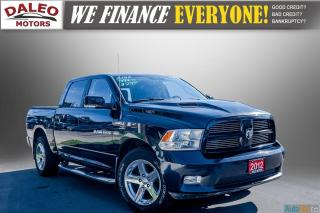 Used 2012 RAM 1500 SPORT / LEATHER / HEATED SEATS / SUN ROOF for sale in Hamilton, ON