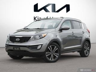 Used 2016 Kia Sportage SX for sale in Hamilton, ON
