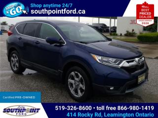 Used 2019 Honda CR-V EX|HTD SEATS|SUNROOF|ADAPTIVE CRUISE|REMOTE START|LANE KEEPING for sale in Leamington, ON
