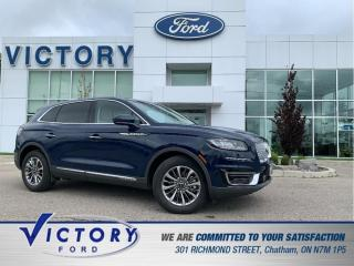 Used 2020 Lincoln Nautilus Reserve | PANORAMIC SUNROOF | NAV | HEATED AND COO for sale in Chatham, ON