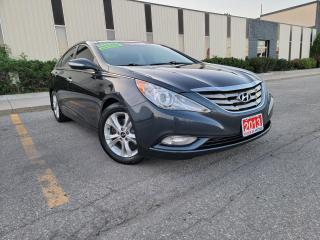 Used 2013 Hyundai Sonata LIMITED, NAVIGATION, REAR CAM,LEATHER, CERTIFIED for sale in Mississauga, ON