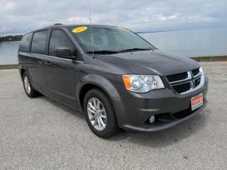 Used 2019 Dodge Grand Caravan CVP/SXT Low K's Bluetooth Rear Cam Stow N Go for sale in Belle River, ON