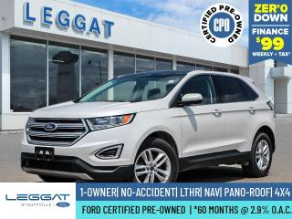 Used 2017 Ford Edge SEL for sale in Stouffville, ON