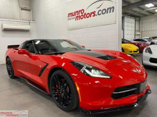 Used 2019 Chevrolet Corvette 2dr Stingray Cpe w-1LT NPP GlassRoof GroundEffects for sale in St. George, ON