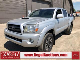 Used 2008 Toyota Tacoma BASE DOUBLE CAB 4WD for sale in Calgary, AB